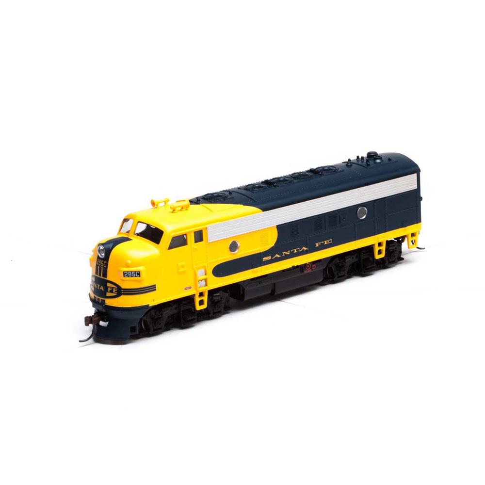 Athearn Roundhouse Ho F7a Santa Fe Blue Bonnet Spring Creek Model Trains