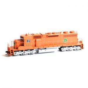 SD38 Diesel Locomotive