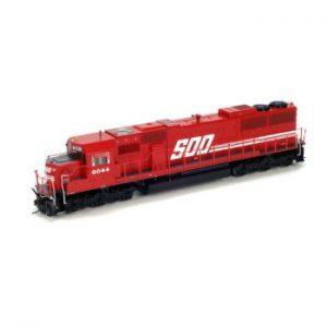 SD60 Diesel Locomotive