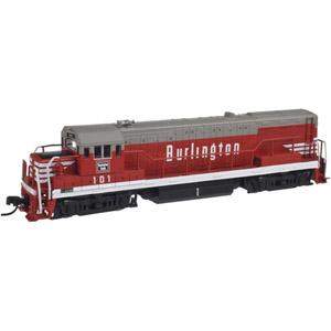 U25B Diesel Locomotive