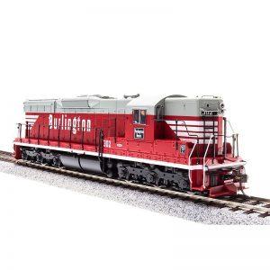 SD7 Diesel Locomotive