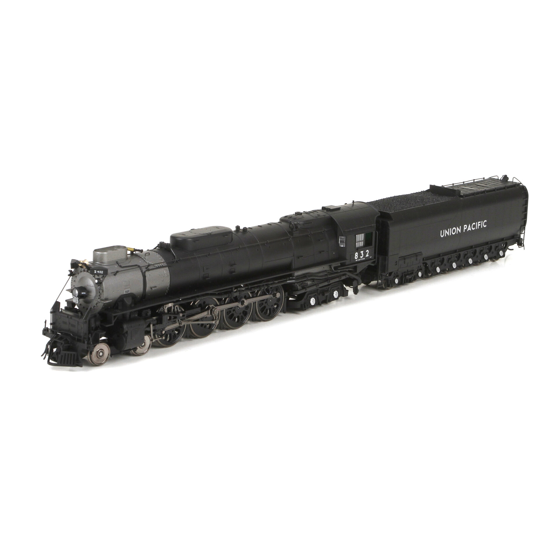 Athearn Genesis HO 4-8-4 Northern Steam Locomotive, Coal Tender, Union  Pacific w/ DCC & Sound