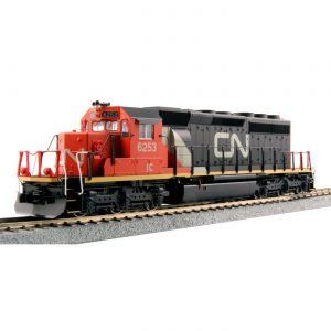SD40-2 Diesel Locomotive