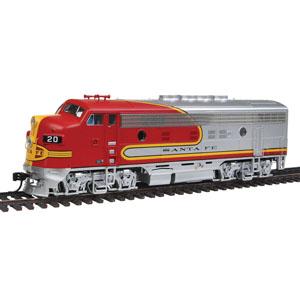 F Series Diesel Locomotives