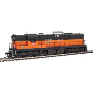 SD7/SD9 Diesel Locomotive