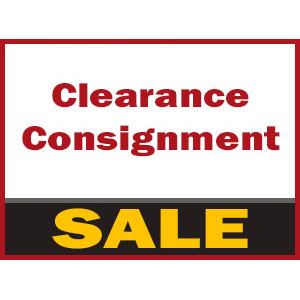Sales, Clearance & Consignment