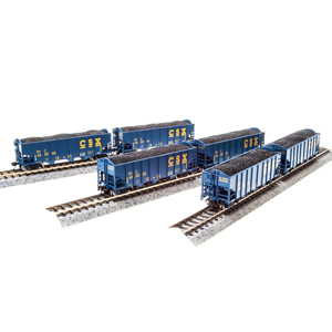 H2a 3 Bay Hopper Cars
