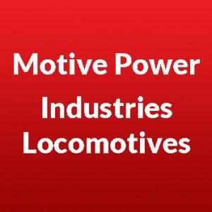 Motive Power Industries Diesel Locomotives